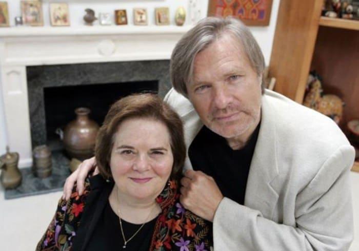 Актер с женой, Джоан Борстен | Фото: 24smi.org