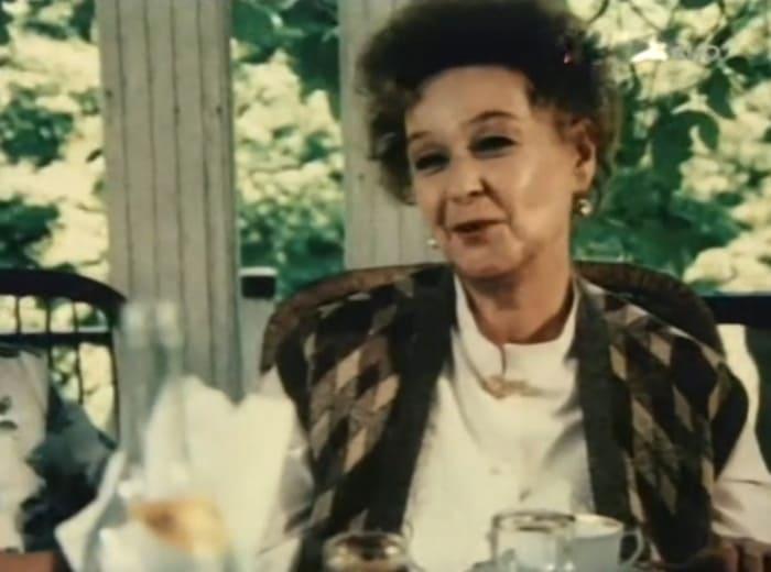 Одна из последних ролей актрисы – в фильме *Отцы*, 1988 | Фото: kino-teatr.ru