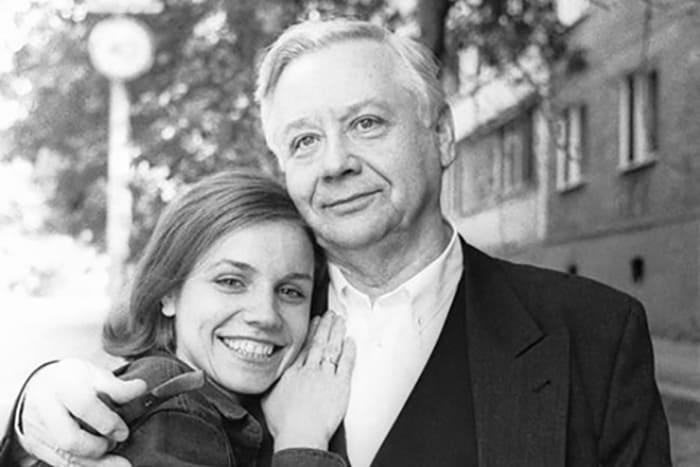 Олег Табаков и его вторая жена Марина Зудина | Фото: uznayvse.ru