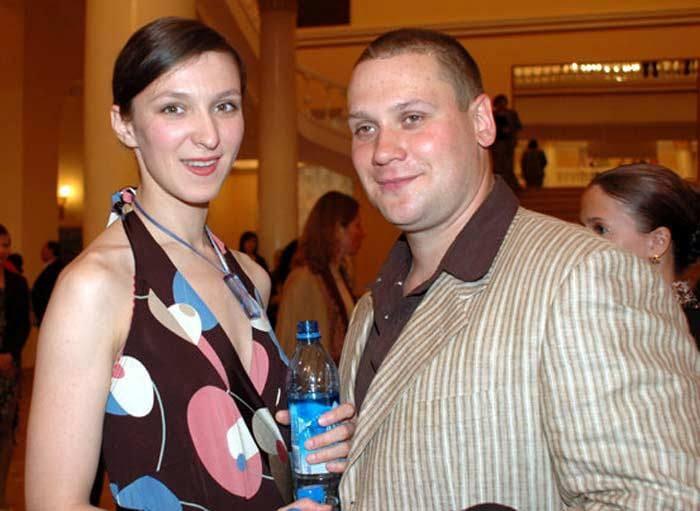 Актриса с мужем   Фото: love-psy.ru