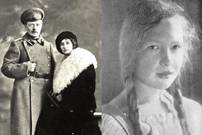 Ольга Берггольц и ее родители | Фото: leningradbessmerten.ru