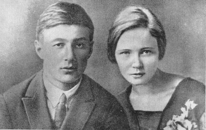 Борис Корнилов и Ольга Берггольц | Фото: liveinternet.ru