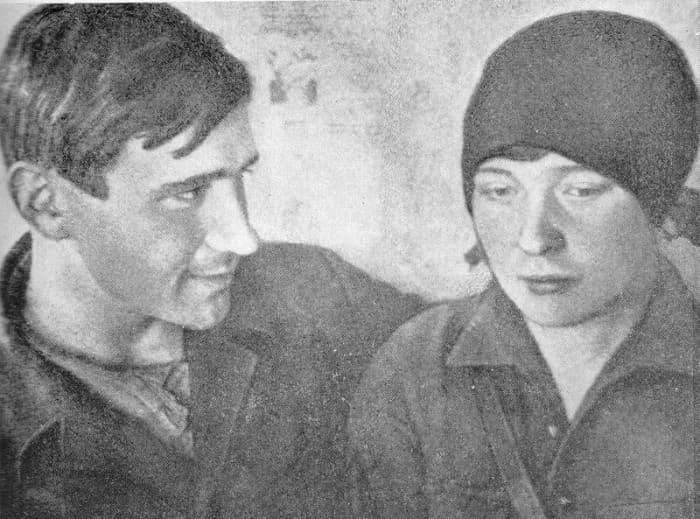 Николай Молчанов и Ольга Берггольц | Фото: liveinternet.ru