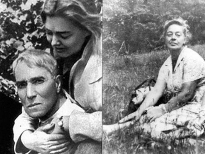 Борис Пастернак и его последняя любовь Ольга Ивинская | Фото: liveinternet.ru