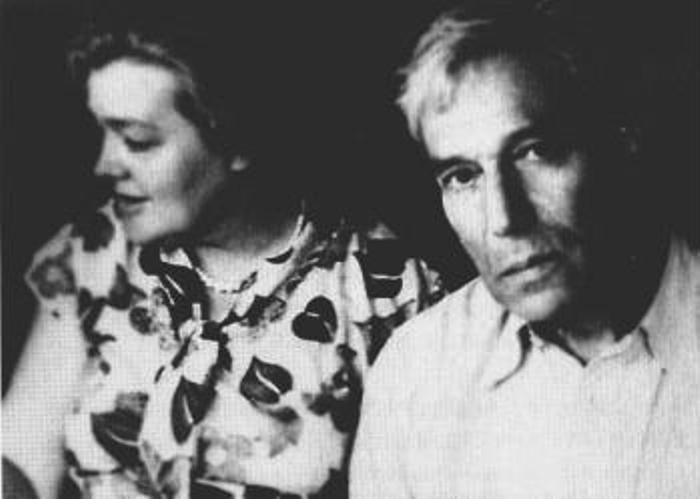 Борис Пастернак у Ольги Ивинской в Измалкове, 1953 | Фото: coollib.com