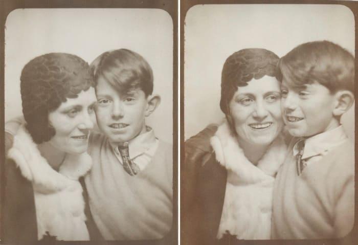 Ольга с сыном, 1928 | Фото: artchive.ru