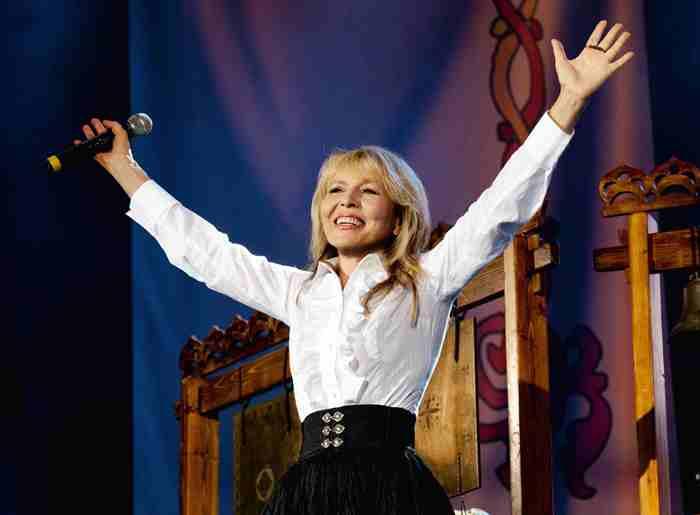 После долгого перерыва певица снова вернулась на сцену. Фото Марины Захаровой   Фото: mywayfestival.ru