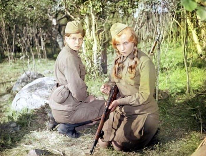 Кадр из фильма *А зори здесь тихие…*, 1972 | Фото: dubikvit.livejournal.com