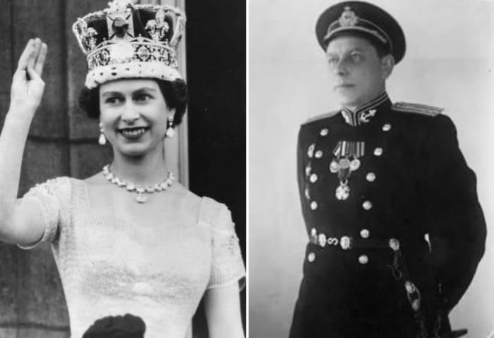 Елизавета II и капитан Рудаков | Фото: moremhod.info, svaword.livejournal.com