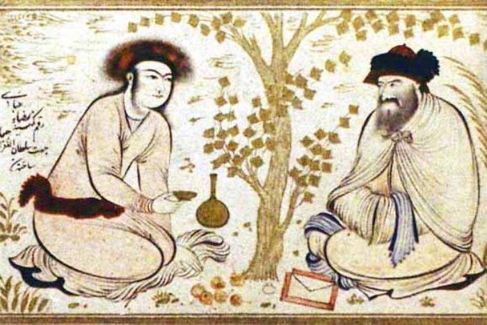 Персидская миниатюра XVII в.
