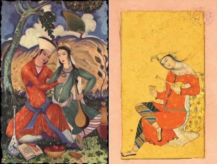 Персидские миниатюры