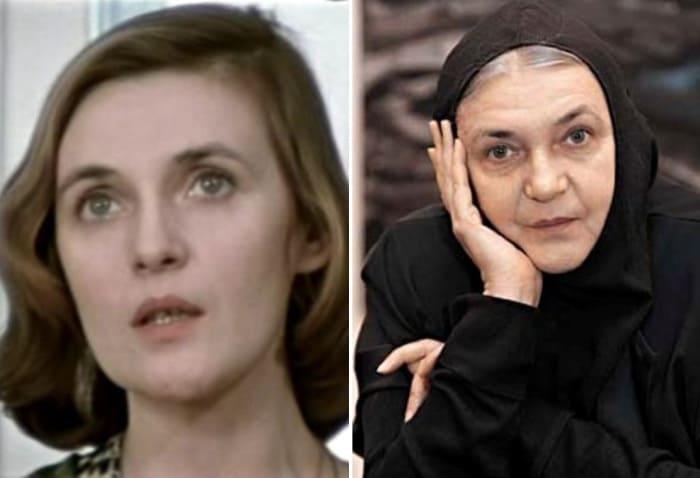 Ольга Гобзева тогда и сейчас | Фото: kino-teatr.ru
