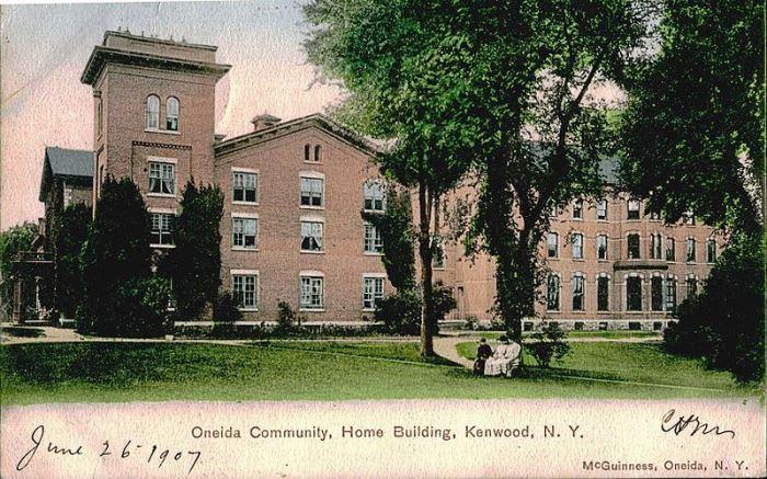 Особняк коммуны *Онеида*, 1907 | Фото: pcmag.com
