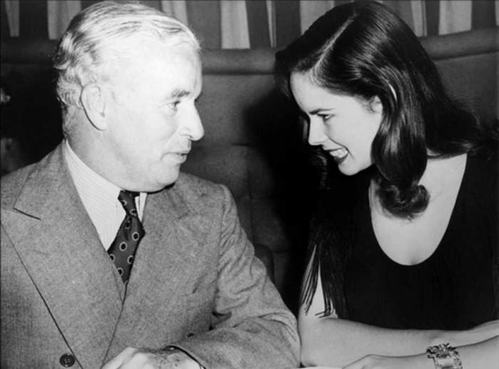 Чарли Чаплин и Уна О'Нил | Фото: obozrevatel.com