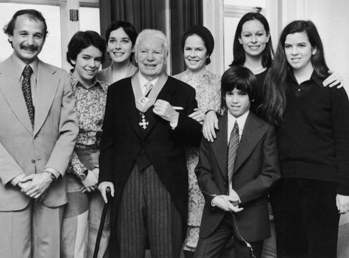 Большая семья Чарли Чаплина | Фото: obozrevatel.com