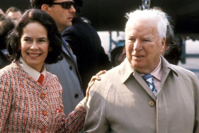 Несмотря на большую разницу в возрасте, Чарли Чаплин и Уна О'Нил были счастливы вместе до самой старости | Фото: obozrevatel.com