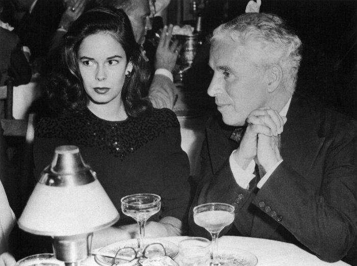 Уна О'Нил и Чарли Чаплин | Фото: i.obozrevatel.ua