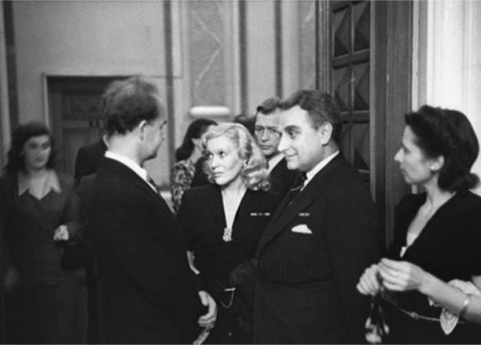 Супруги в 1950 г. | Фото: dubikvit.livejournal.com