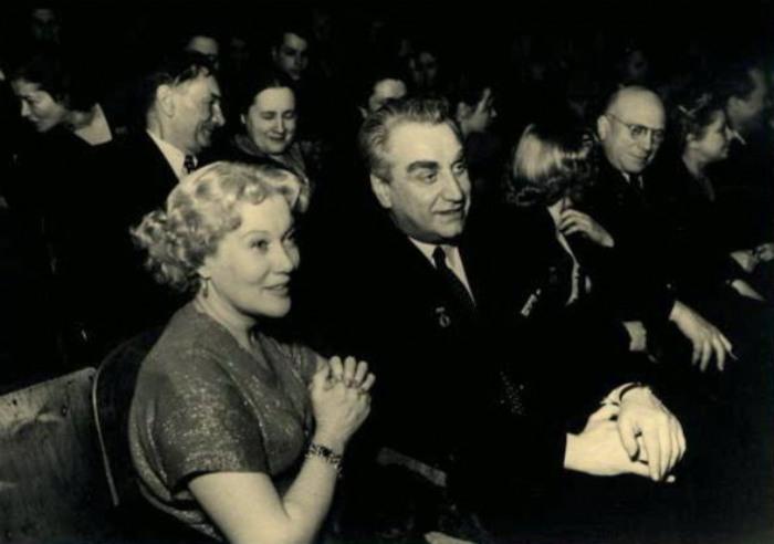 Орлова и Александров в 1953 г. | Фото: kino-teatr.ru
