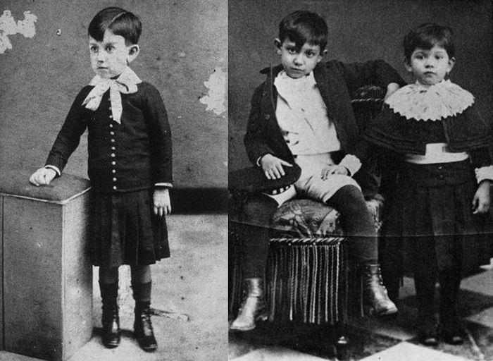 Пабло Пикассо в детстве | Фото: peoples.ru