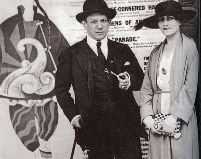 Пабло Пикассо и Ольга Хохлова | Фото: liveinternet.ru