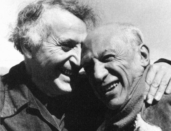 Марк Шагал и Пабло Пикассо, 1941 | Фото: artchive.ru