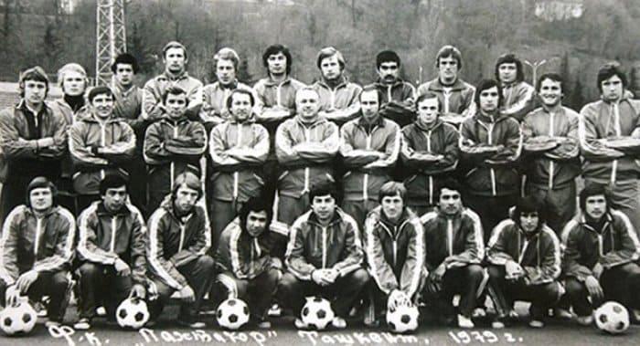 Футбольный клуб *Пахтакор*, 1979 | Фото: sputniknews-uz.com