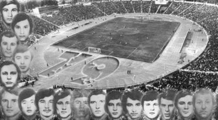 Члены футбольного клуба *Пахтакор*, погибшие во время авиакатастрофы в 1979 г. | Фото: informburo.dn.ua