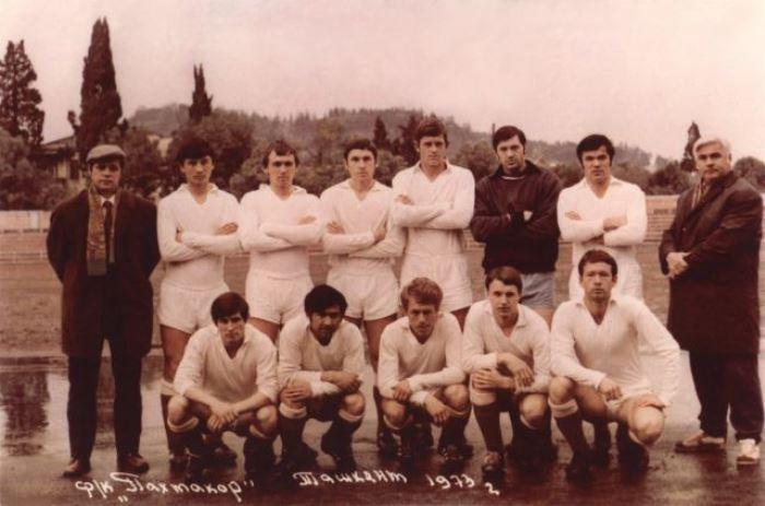 Футбольный клуб *Пахтакор*, 1973 | Фото: alisheraminov.ru