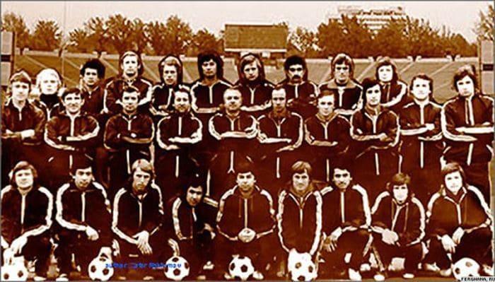 Футбольный клуб *Пахтакор*, 1979 | Фото: sports.dp.ua