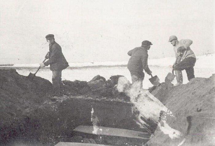 Захоронения жертв Испанки, Канада, 1918