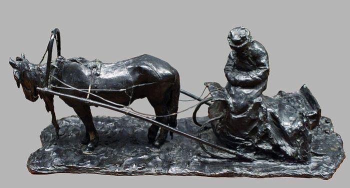 П. Трубецкой. Московский извозчик, 1898 | Фото: liveinternet.ru