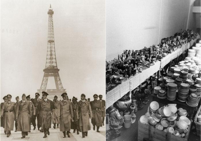 Нацисты в Париже. Торговля похищенными у евреев вещами