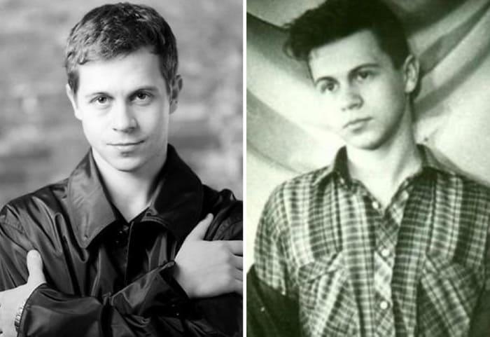 Актер в молодости   Фото: kino-teatr.ru, biography-life.ru