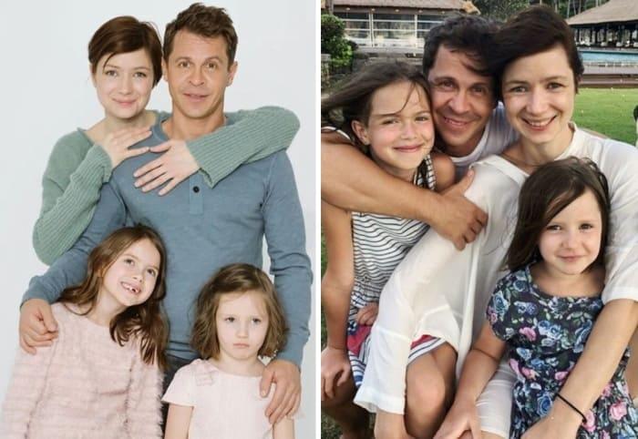 Актер с женой и детьми   Фото: uznayvse.ru, starhit.ru