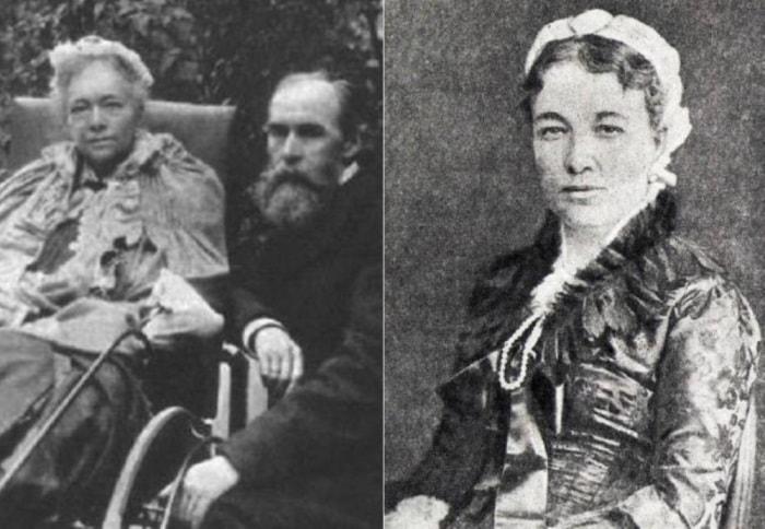 Вера и Павел Третьяковы, фото 1898 и 1884 гг. | Фото: liveinternet.ru