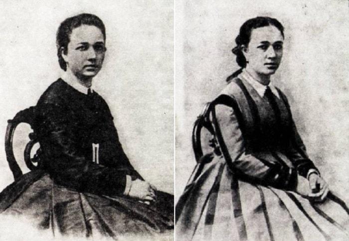 Вера Николаевна Мамонтова, 1864 и 1865 гг. | Фото: liveinternet.ru