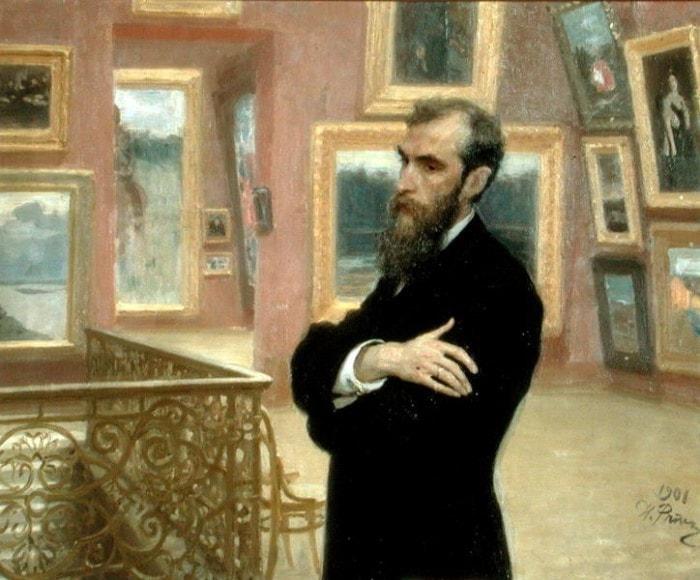 И. Репин. Портрет П. М. Третьякова, 1901 | Фото: artcontext.info