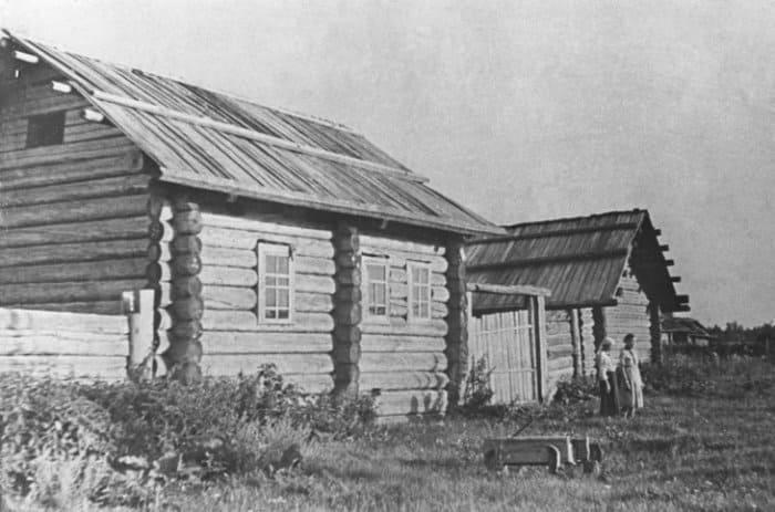 Дом, в котором жил Павлик Морозов, 1950 | Фото: m24.ru