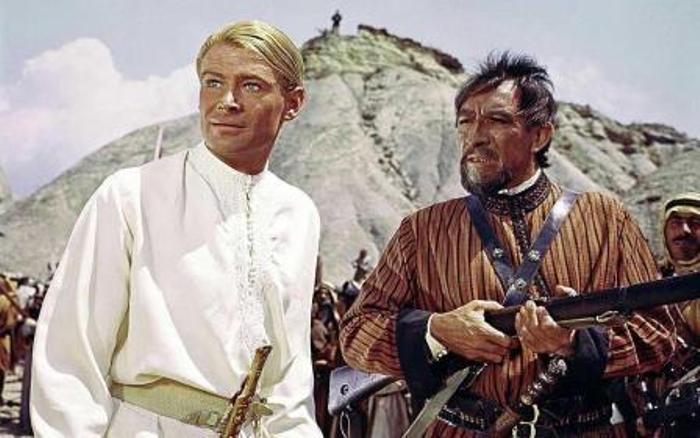 Кадр из фильма *Лоуренс Аравийский*, 1962   Фото: 2queens.ru