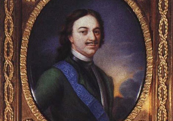 П. Жарков. Петр I, 1796. Фрагмент | Фото: aria-art.ru