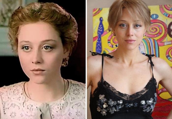 Дарья Волга в сериале *Петербургские тайны* и в наши дни   Фото: kino-teatr.ru