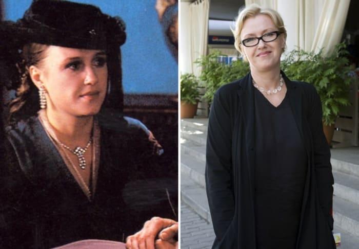 Ирина Розанова в сериале *Петербургские тайны* и в наши дни   Фото: kino-teatr.ru
