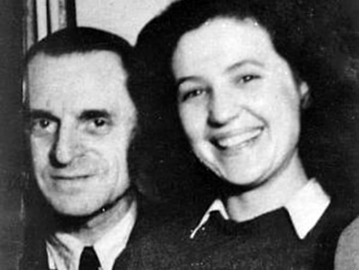 Петр Лещенко и его вторая жена Вера Белоусова | Фото: kino-teatr.ru