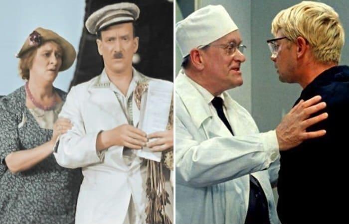 Самые известные кинообразы актера Петра Репнина | Фото: kino-teatr.ru, aif.ru
