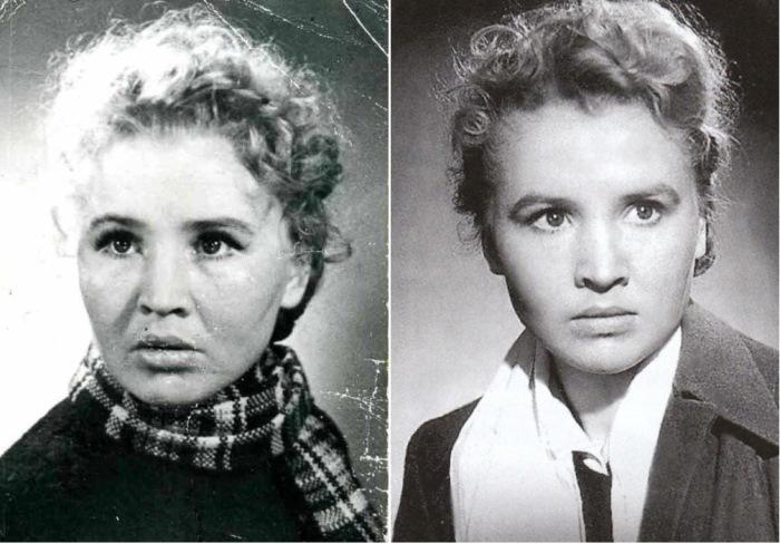 Советская актриса Екатерина Савинова | Фото: ecoiii.moy.su и kino-teatr.ru