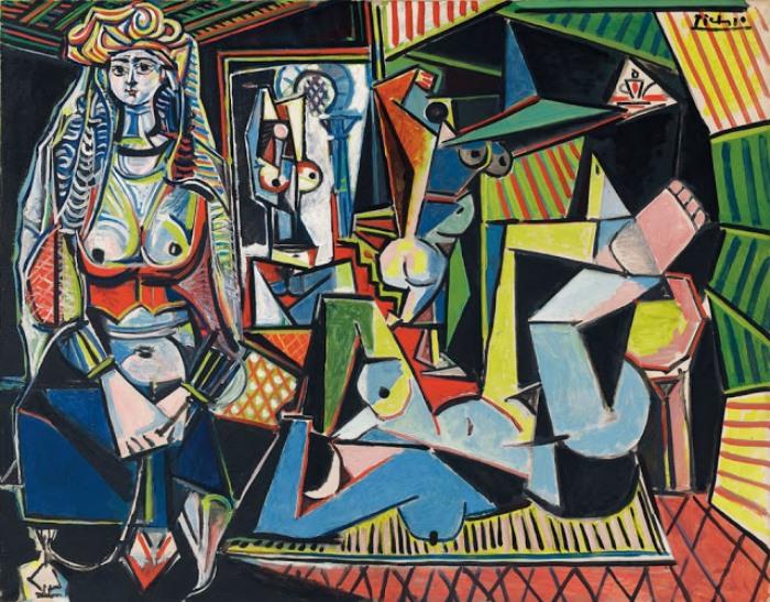 Пабло Пикассо. Алжирские женщины (Версия О), 1955 г.