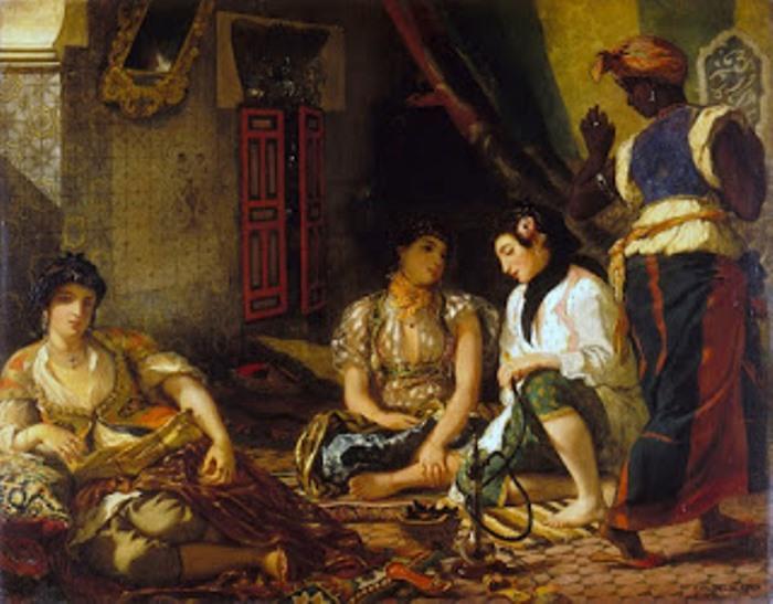 Эжен Делакруа. Алжирские женщины, 1834 г.