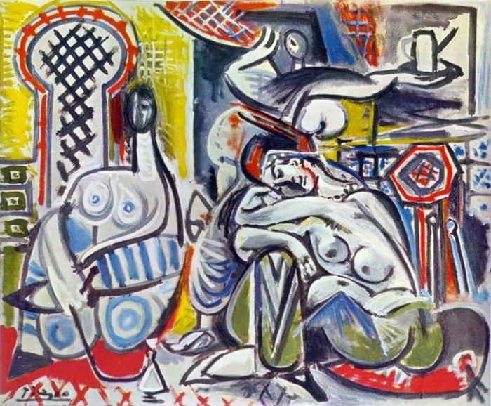 Пабло Пикассо. Алжирские женщины (Версия А), 1954 г.