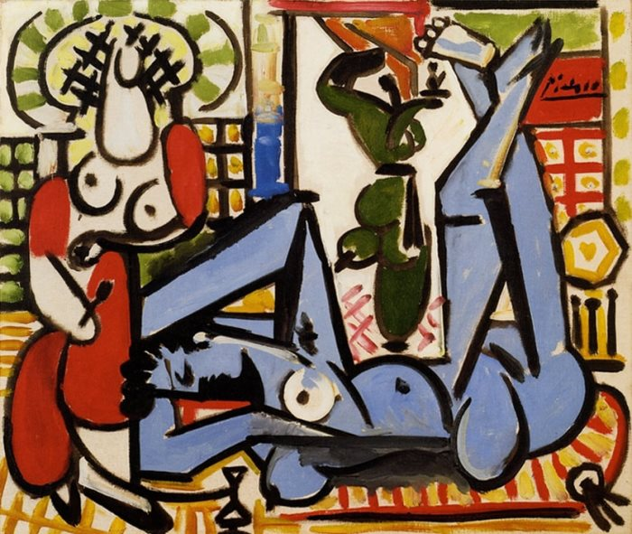 Пабло Пикассо. Алжирские женщины (Версия Е), 1955 г.
